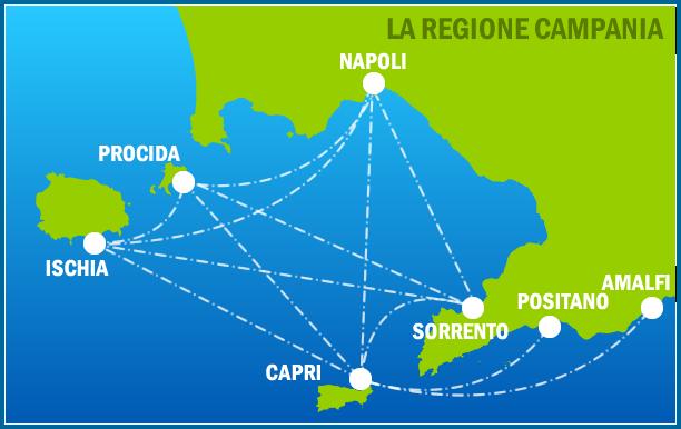 Cartina Costiera Amalfitana E Capri.Cooperativa S Antonio Escursioni Transfer E Noleggio Barche In Costiera Amalfitana Ischia E Capri